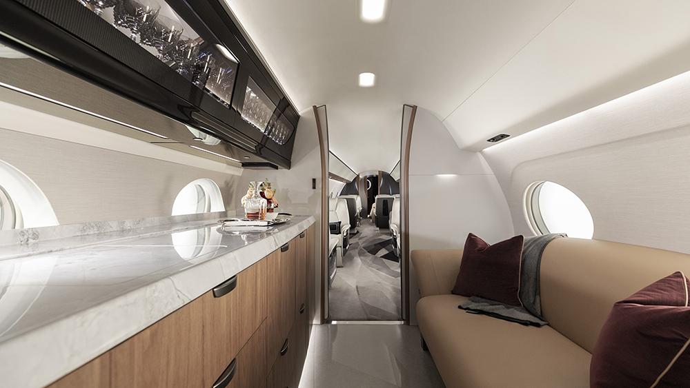 обзор Gulfstream G700