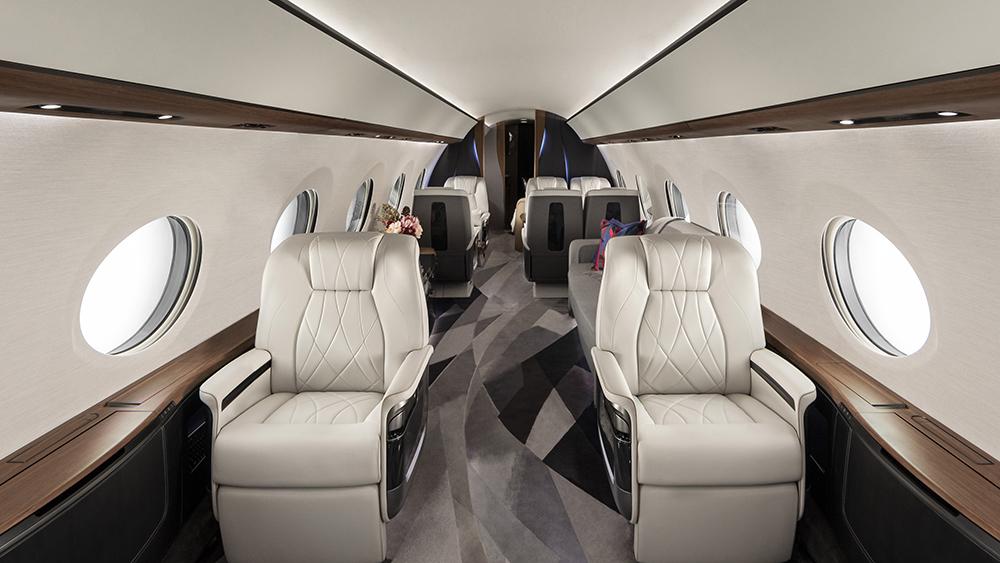 роскошь Gulfstream G700