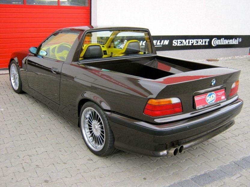 BMW 330 (E36) и желтый салон