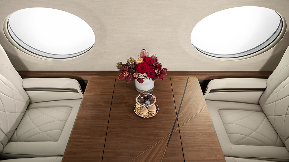 интерьер Gulfstream G700