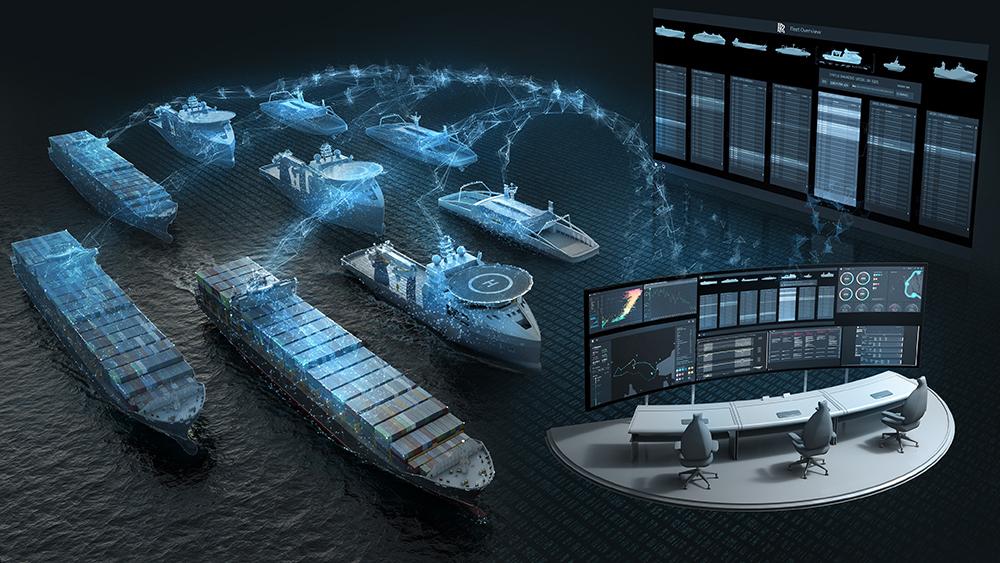 система автопилота в море