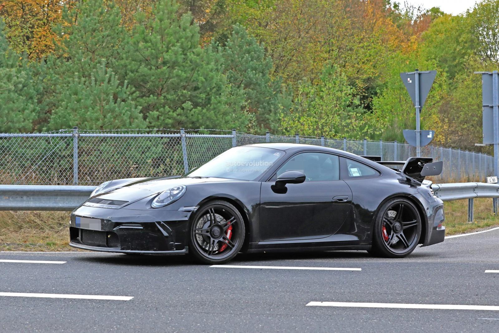 Porsche 911 GT3 поколения 992