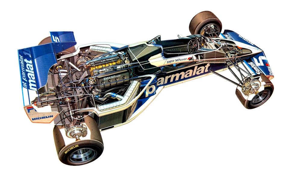 Brabham BT52B схема