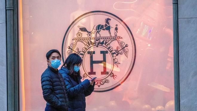 Hermès в Китае