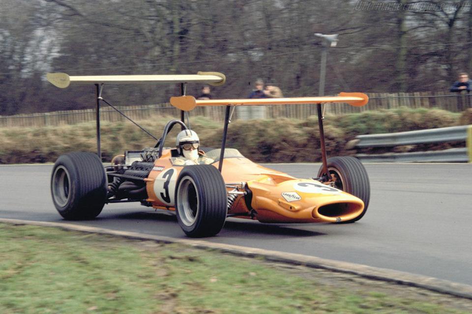 McLaren M7A Ford тесты