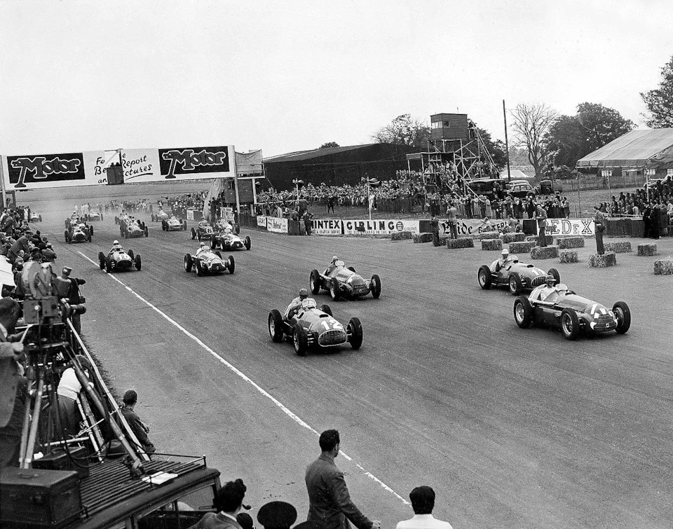 Гран-при Европы 1950 года в Сильверстоуне