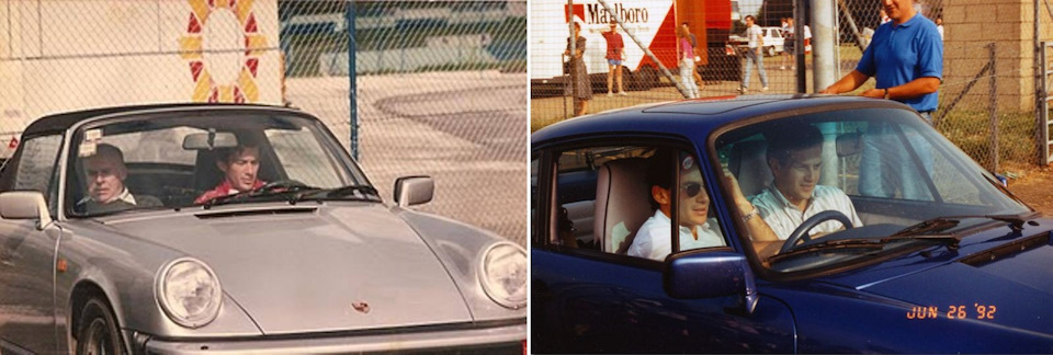 Два Porsche Айртона Сенны