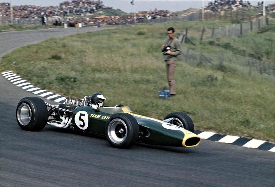 Джим Кларк на Lotus 49 Ford