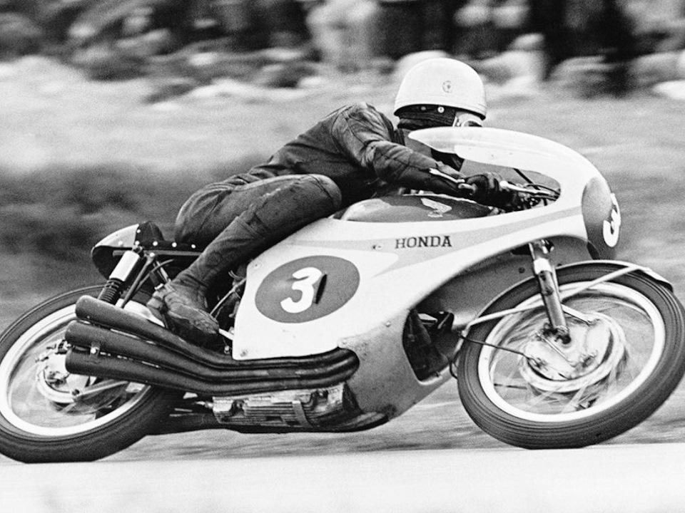 Джим Редман на Honda RC165