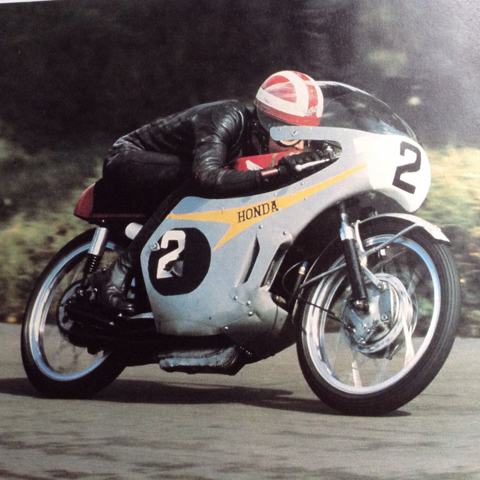 Ральф Брайанс на Honda RC148