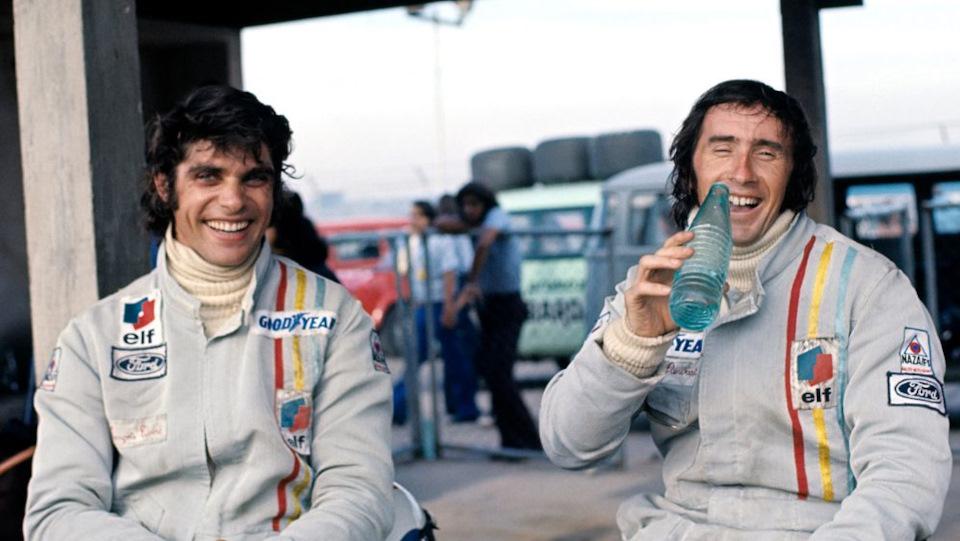 Гран-при Нидерландов, 1973 г. Слева — Франсуа Север