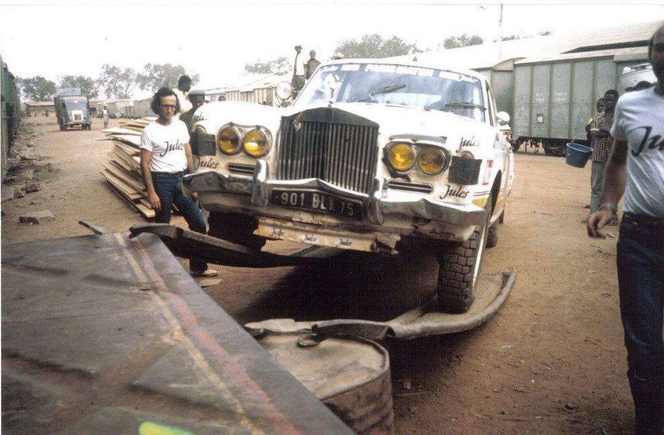 авария Rolls Royce