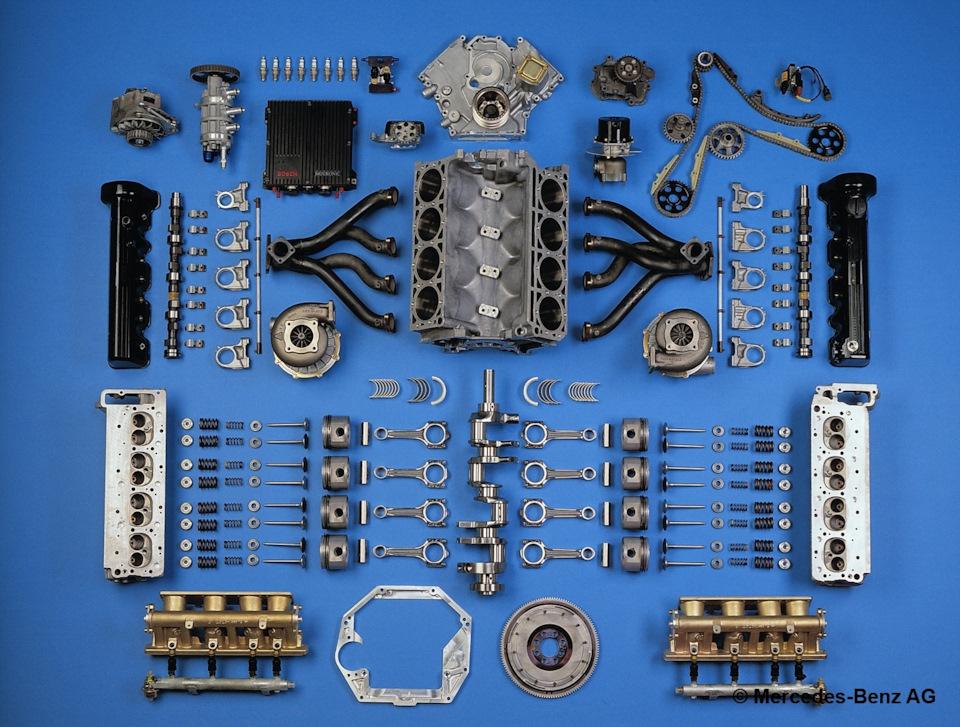 вигатель Mercedes-Benz M117