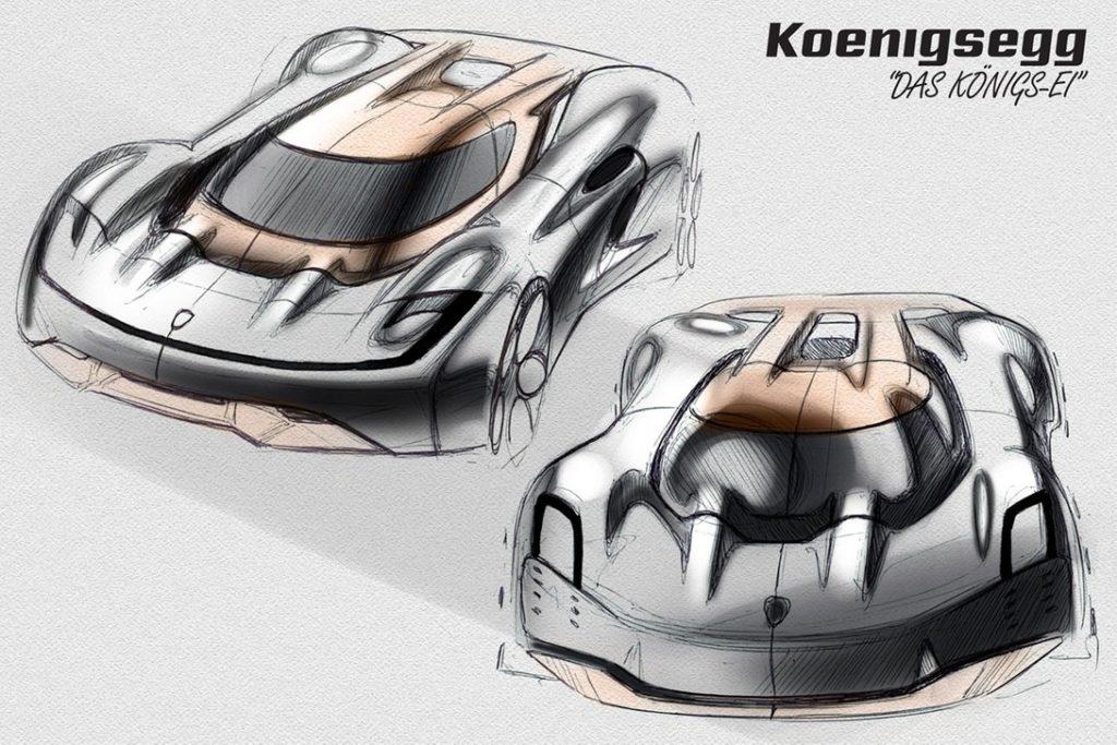 язык концепт Koenigsegg