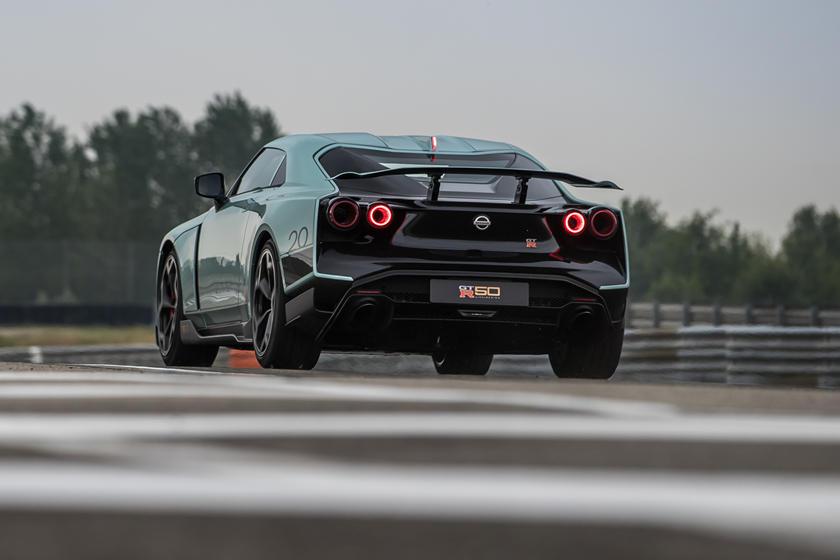 фото Nissan GT-R 50 от Italdesign