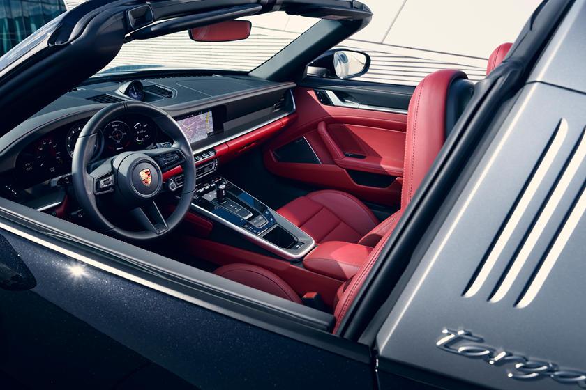 интерьер Porsche 911 Targa