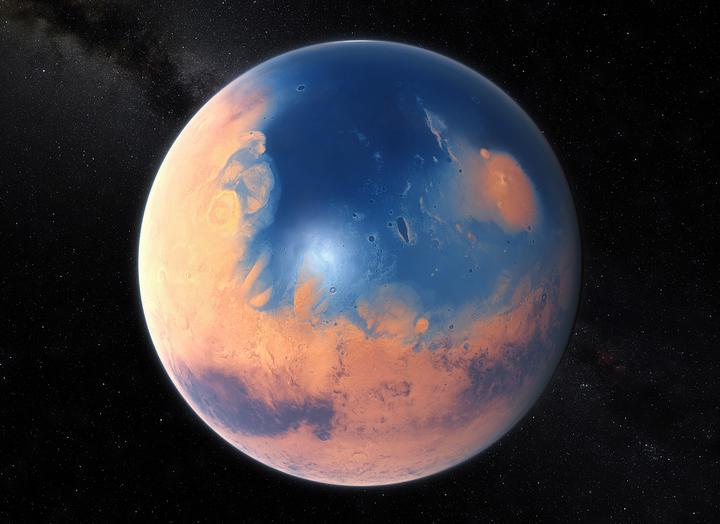 наличие жизни на Марсе