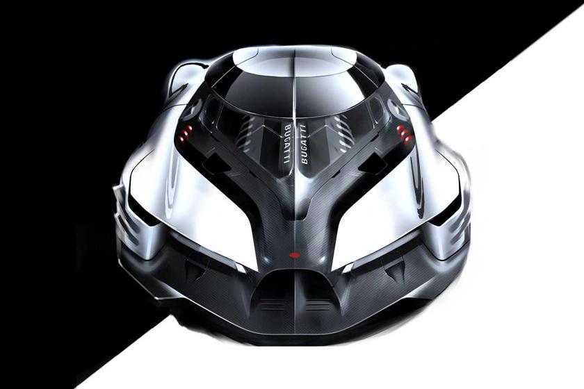 концепт Bugatti La Finale Concept