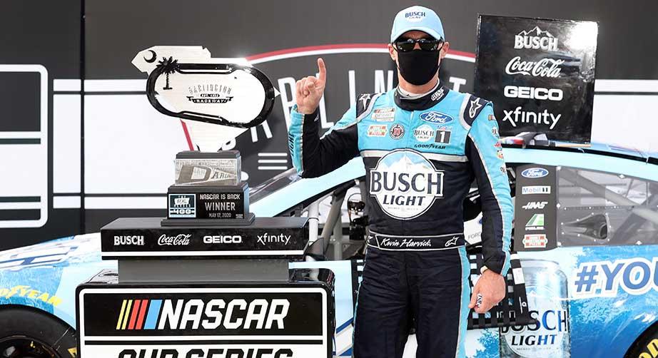 победа в NASCAR