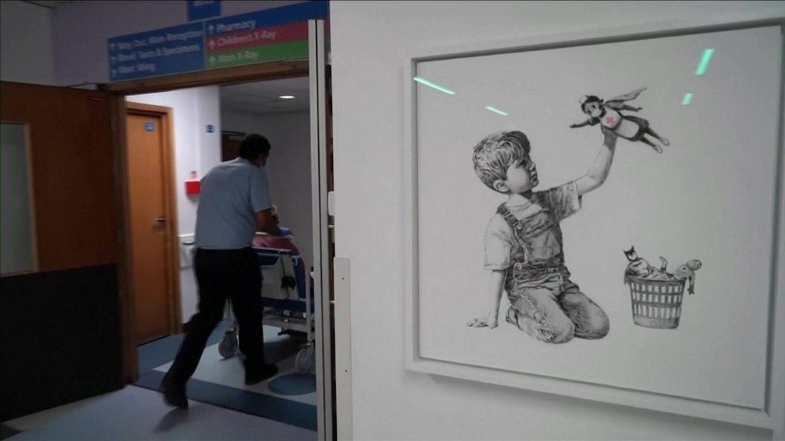 Banksy посвятил новую работу