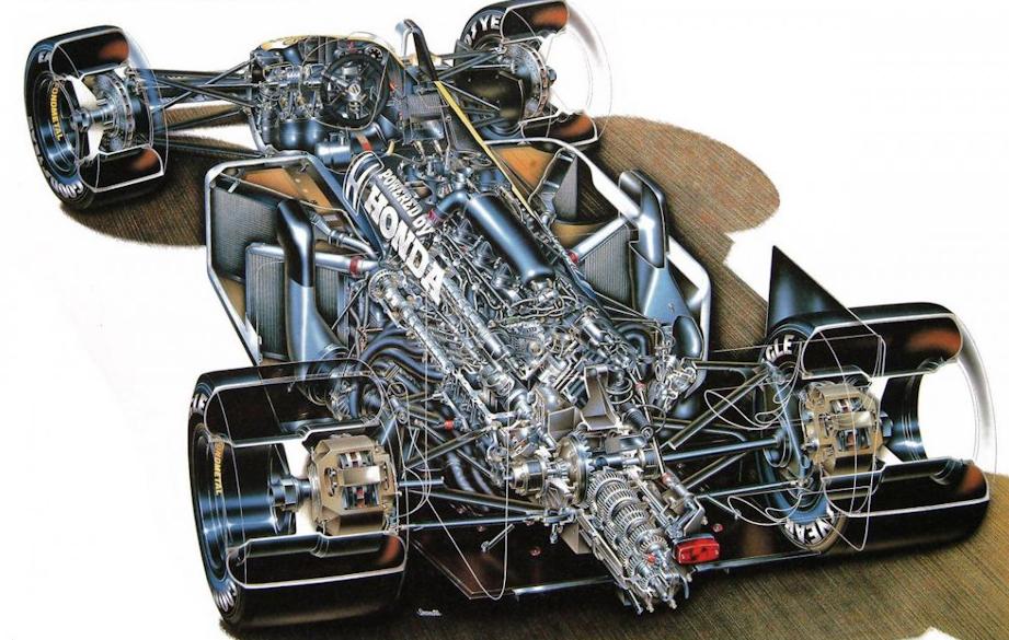 Williams-Honda FW11