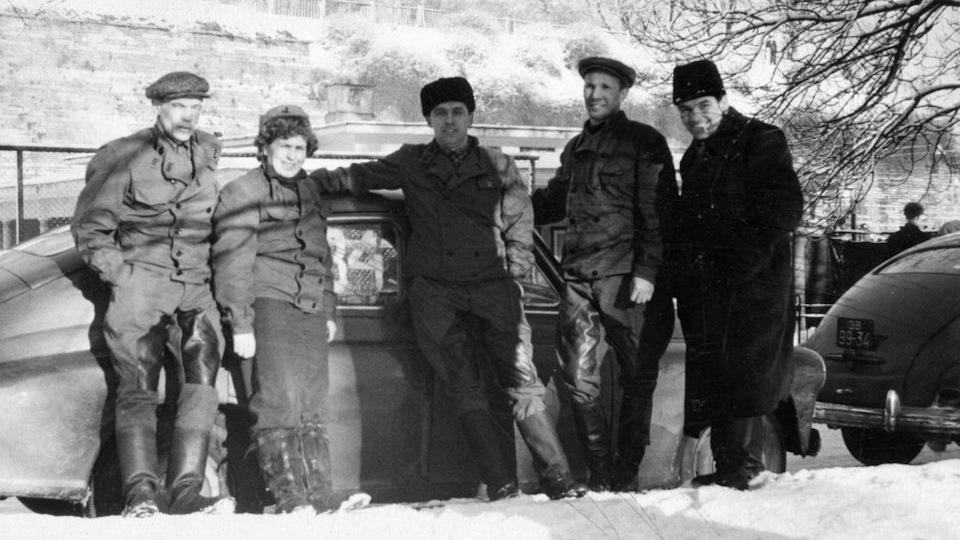 1-м зимнем командном ралли