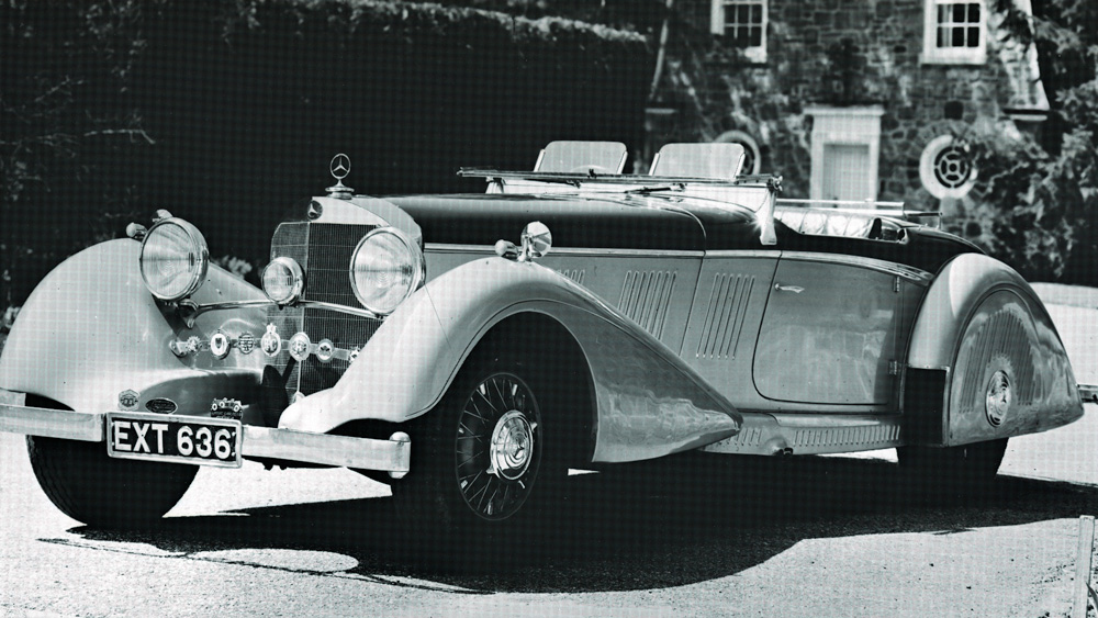 фотографии Mercedes-Benz 540K Special Roadster 1937 года