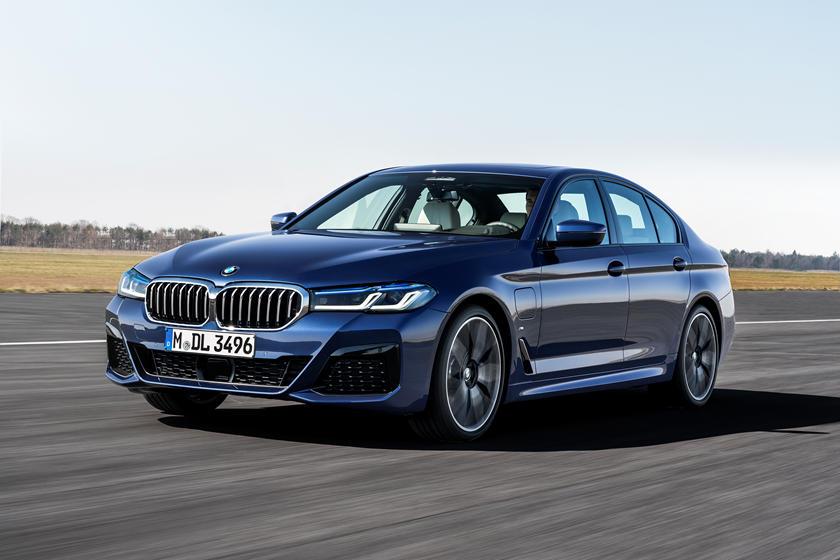 BMW 5 рестайлинг