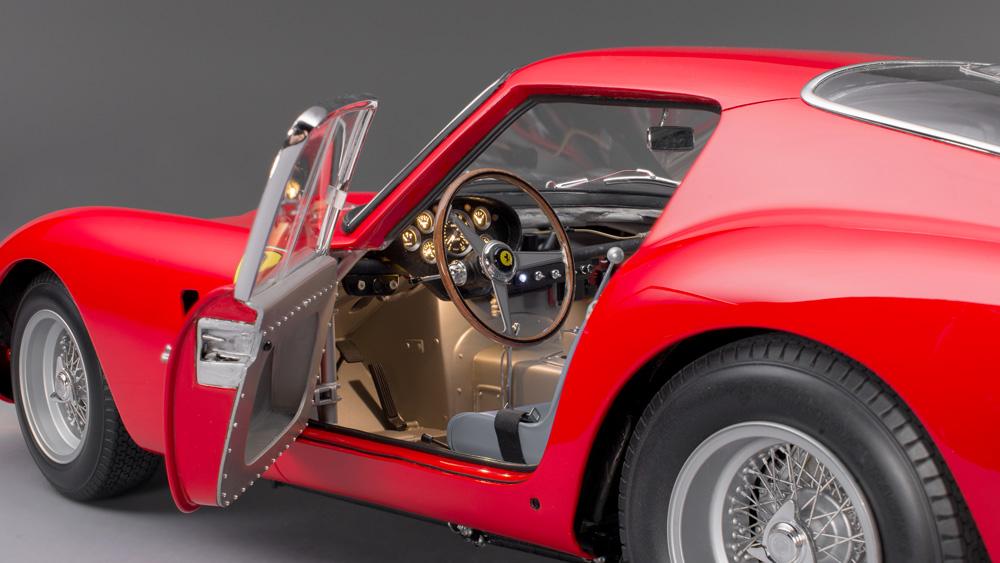 интерьер миниатюрного Ferrari 250 GTO