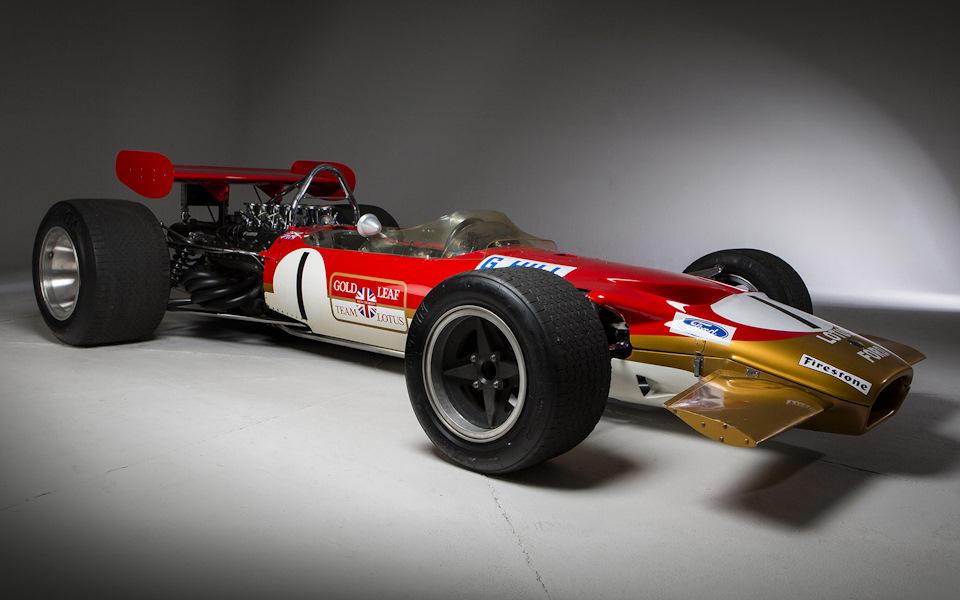 обзор Lotus 49