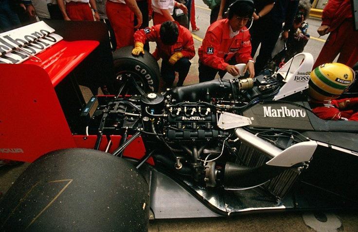 McLaren-Honda MP4/4 Айртона Сенны. 1988 год