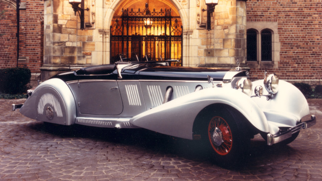 Mercedes-Benz 540K Special Roadster 1937 года