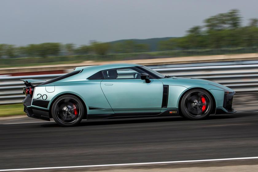 обзор Nissan GT-R 50 от Italdesign