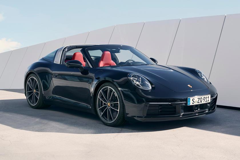 характеристики Porsche 911 Targa