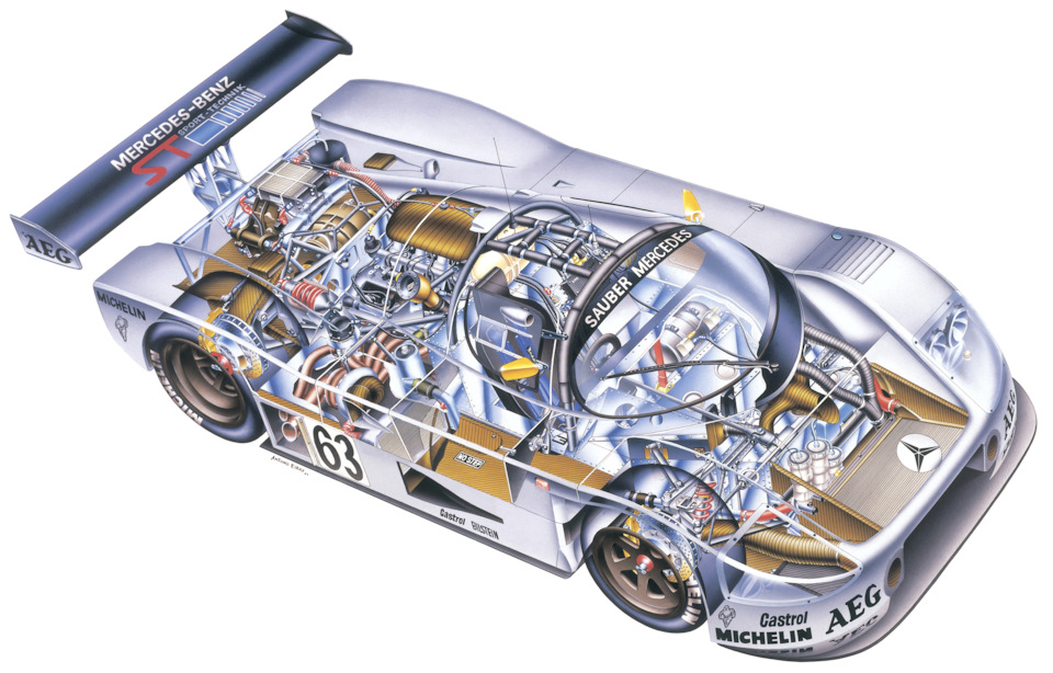 Sauber-Mercedes C9 в версии 1989 года