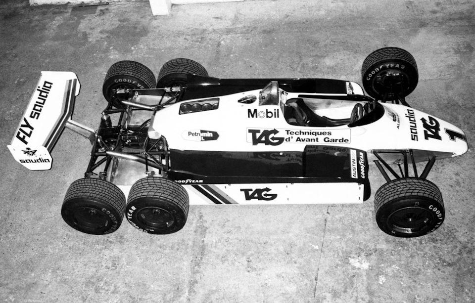 Williams FW08B Ford