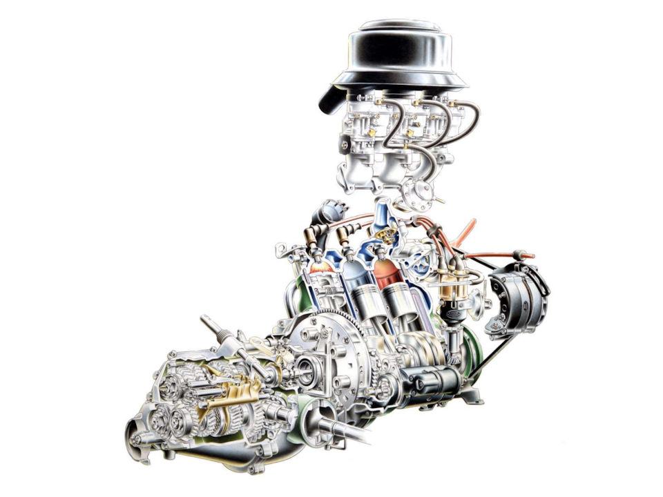 Двигатель Saab 96 Sport