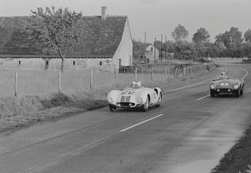 Один из участков «гоночной трассы» того времени
