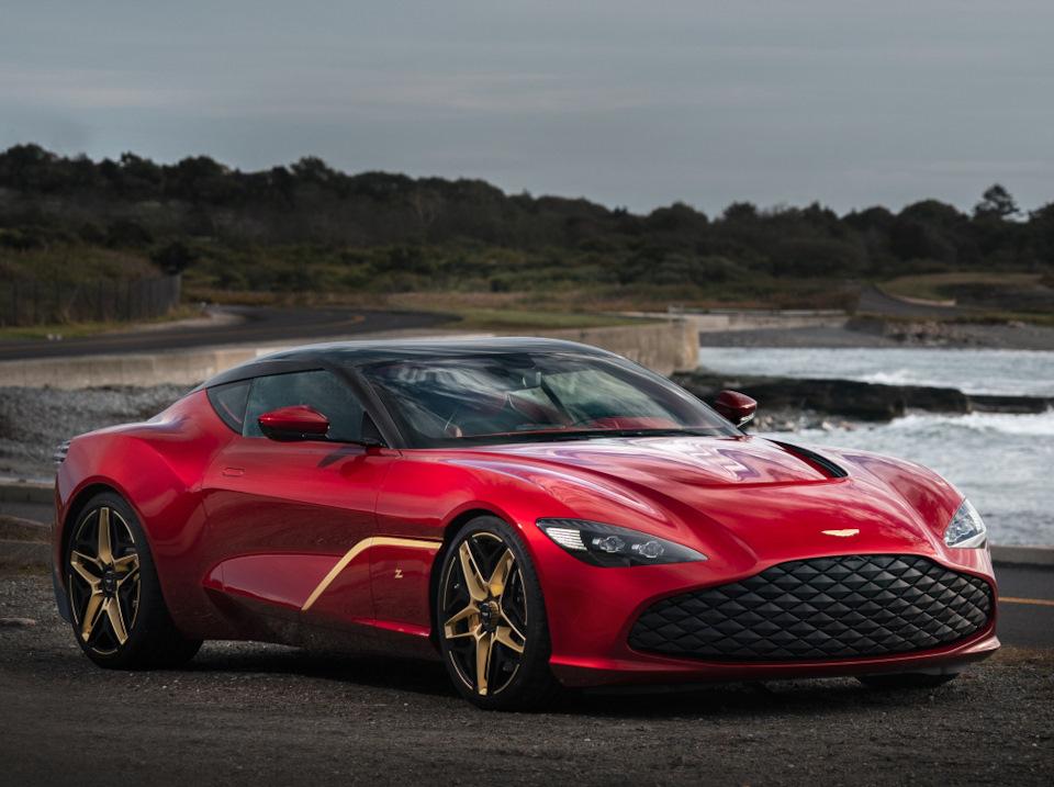 обзор Aston Martin DBS GT Zagato
