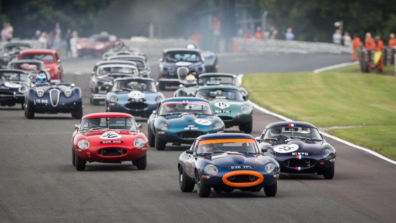 гоночные автомобили Jaguar