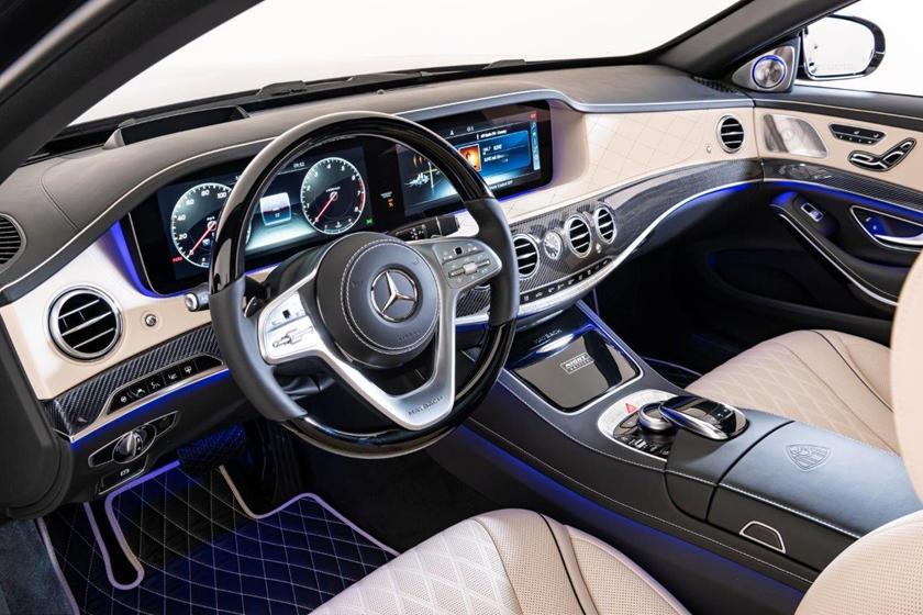 интерьер Mercedes-Maybach S650 Night Edition