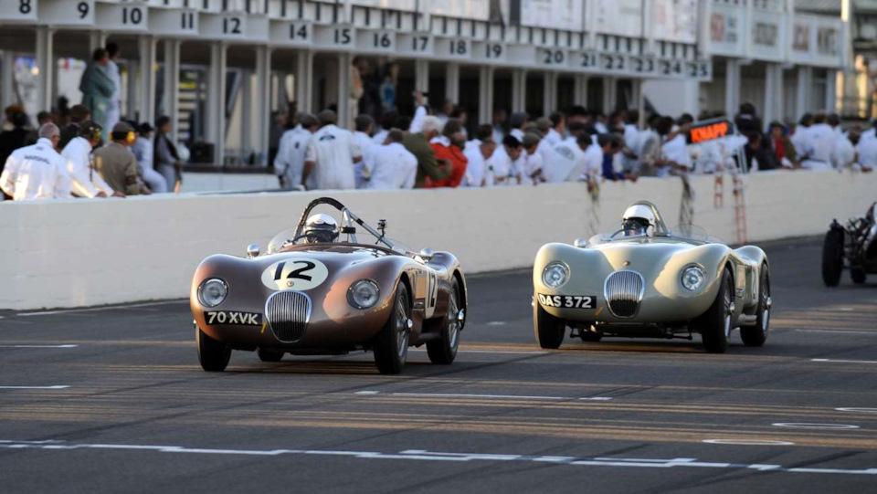 классические Jaguar C-Type