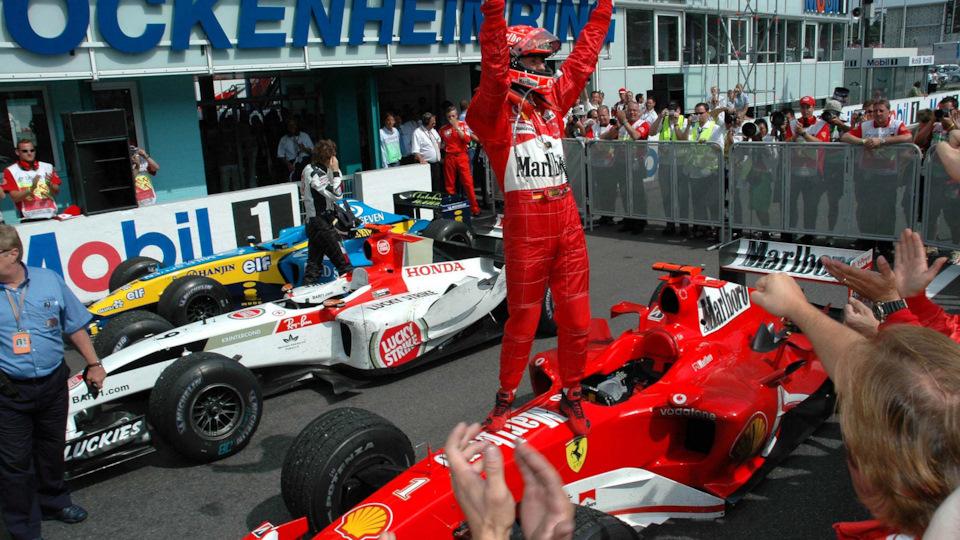 победа Ferrari F2004