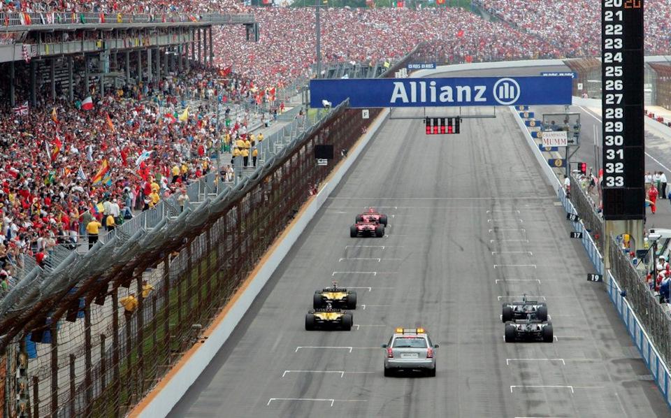 старт уникальной гонки