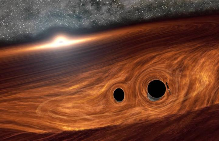 слияние чёрных дыр