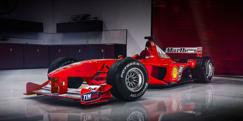 Главные гоночные автомобили Ferrari