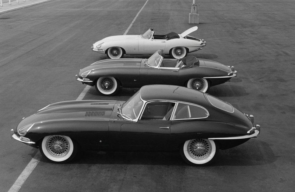 обзор Jaguar E-Type