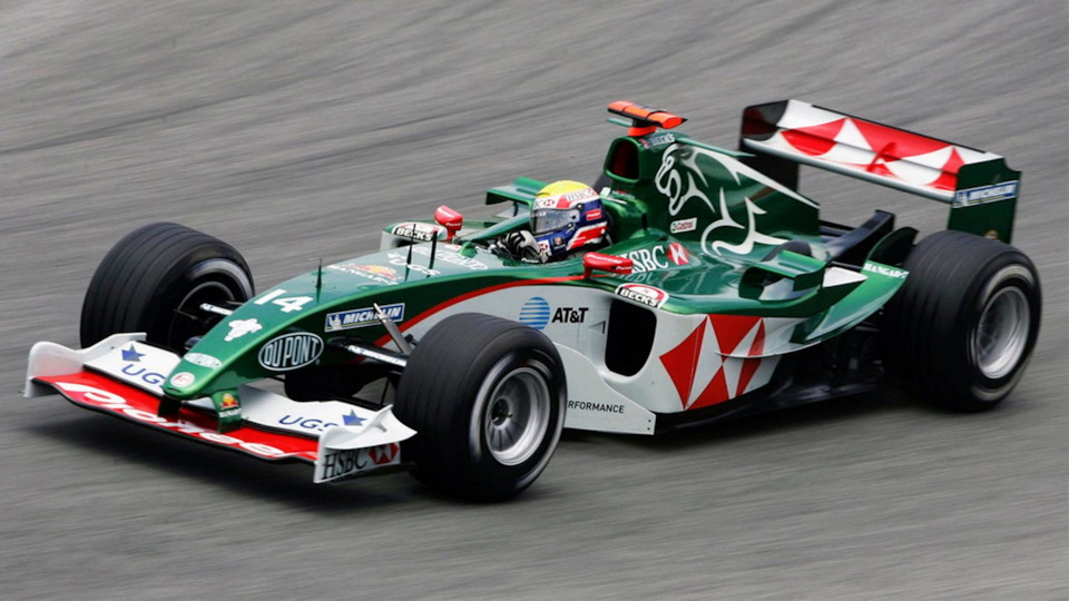 Формула 1: Jaguar R1 – R5