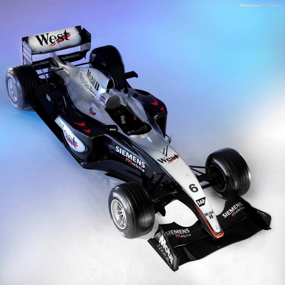 McLaren MP4/18 Mercedes.