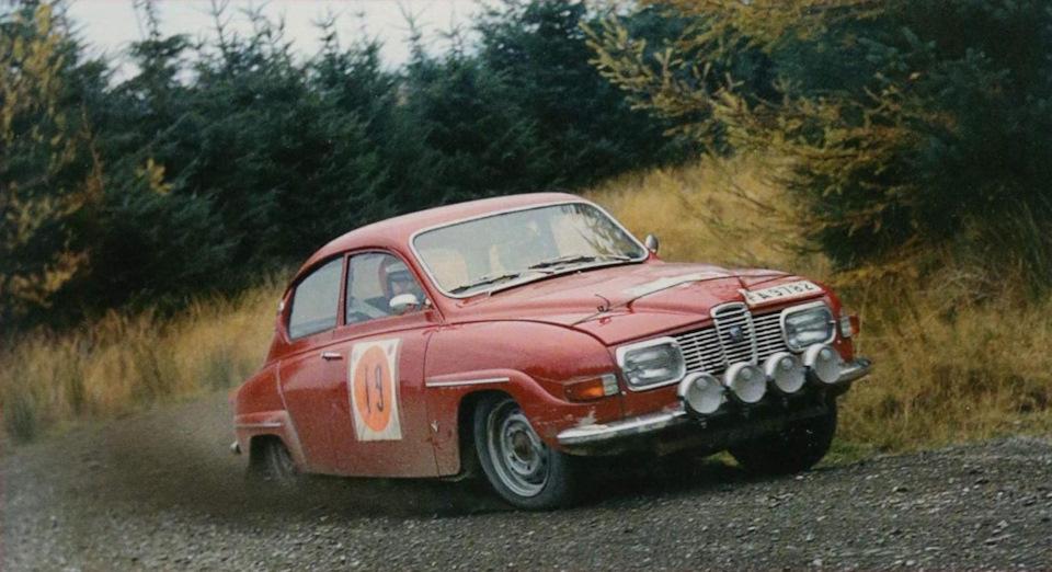 Saab 96 V4 в ралли